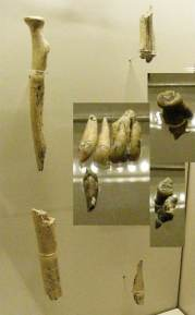 Which set of remains are among the oldest hominid remains known?