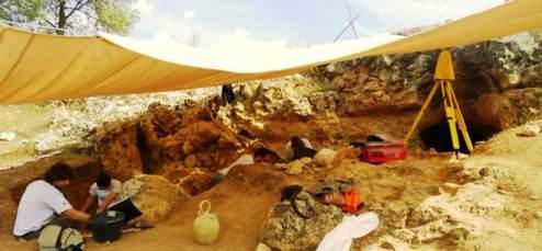 Cueva de la Buena Pinta. Calvero de la Higuera. Foto: Roberto Sáez