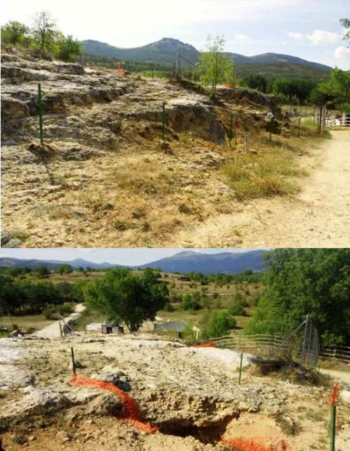 Cueva del Camino. Calvero de la Higuera. Foto: Roberto Sáez