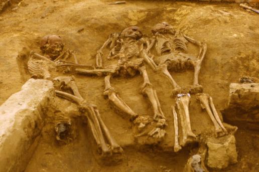 Enterramiento de Dolní Věstonice