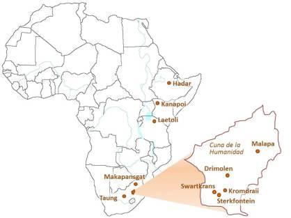 Yacimientos africanos