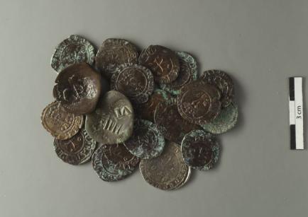 Monedas de la cueva Las Monedas