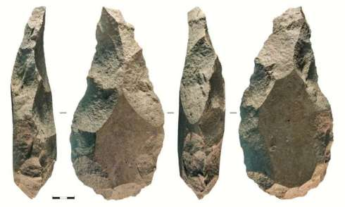 Giant handaxes