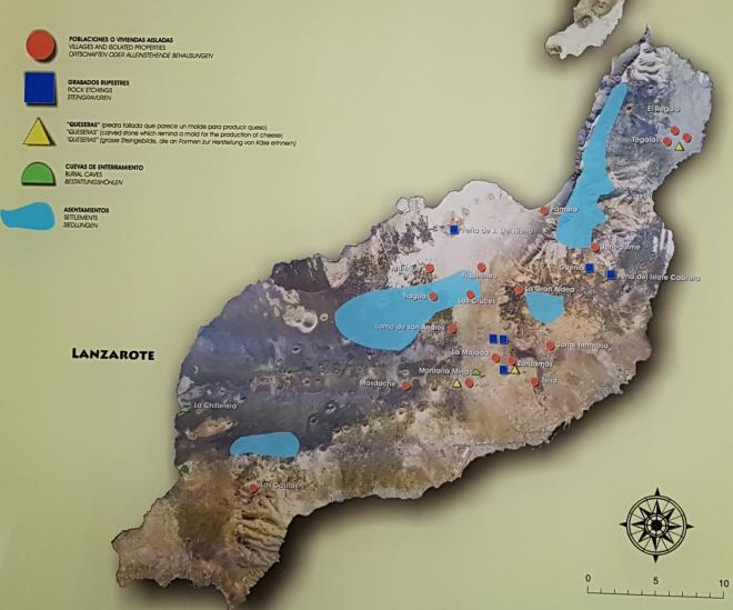 Asentamientos aborígenes en Lanzarote