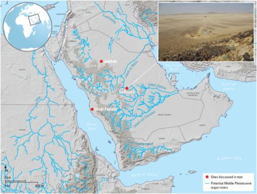 Achelense Arabia