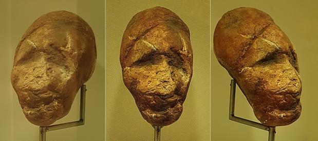 La escultura magdaleniense de una cabeza humana (Entrefoces,Asturias)